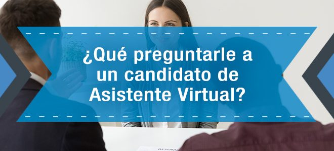 candidato a Asistente Virtual